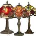 Oaks Lighting Tiffany Table Lamps